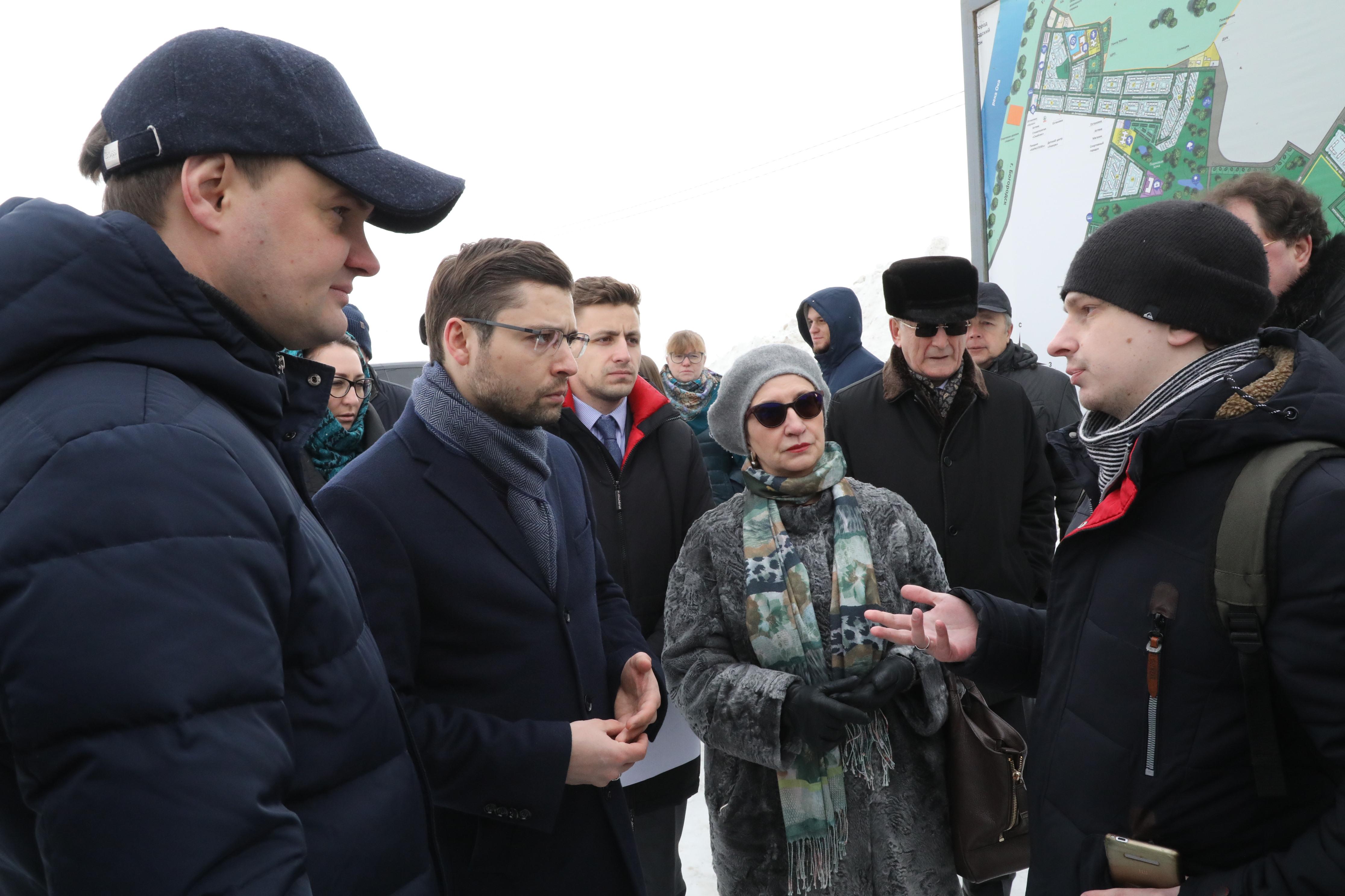 Выездное заседание по  проблемным ЖК Богородского района Нижегородской области