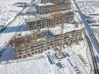 Ход строительства дома Литер 22 в ЖК Светлоград - фото 11, Январь 2021