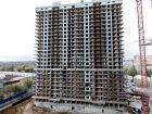 Ход строительства дома Литер 1 в ЖК Первый - фото 67, Октябрь 2018