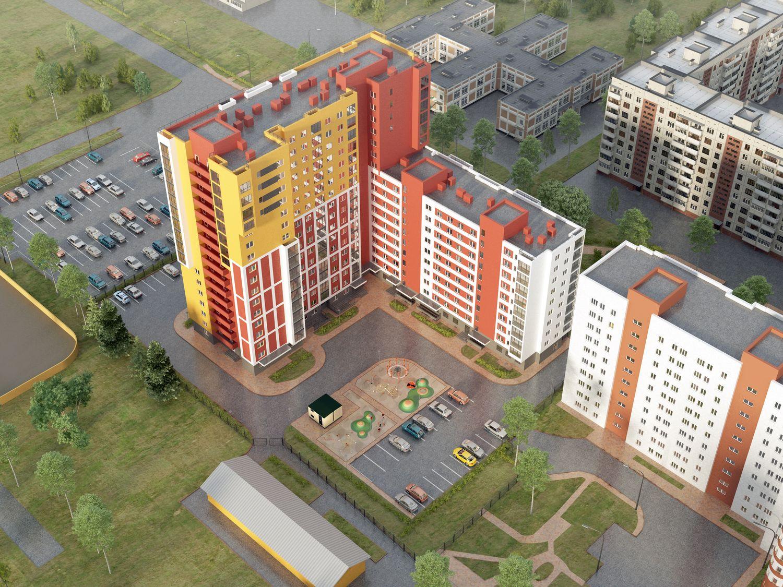 Жилой комплекс «Флагман» в Нижнем Новгороде - фото 1