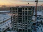 Ход строительства дома № 1 первый пусковой комплекс в ЖК Маяковский Парк - фото 49, Февраль 2021