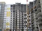 Ход строительства дома № 12 в ЖК На Победной - фото 14, Декабрь 2014