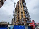 Ход строительства дома Литер 1 в ЖК Династия - фото 11, Июнь 2020