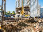 ЖК Zапад (Запад) - ход строительства, фото 69, Ноябрь 2018