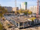 Ход строительства дома № 1 первый пусковой комплекс в ЖК Маяковский Парк - фото 82, Октябрь 2020