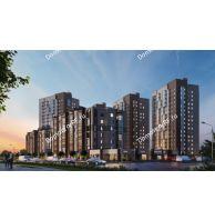 3 комнатная квартира 56,5 м² в ЖК Арбан Smart на Краснодарской, дом № 3 - планировка