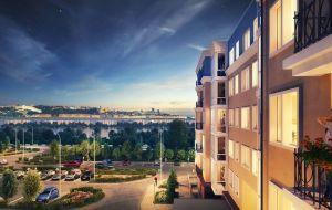 Двухкомнатная квартира 69,75 м2 за 3 850 000 рублей
