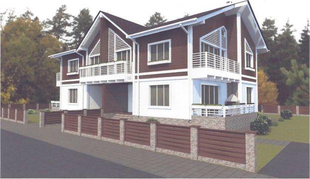 Дом Типа дуплекс (175,5 м2) в КП DolinaGreen (Долина Грин) - фото 2