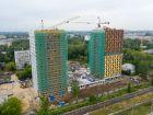 Ход строительства дома № 1 второй пусковой комплекс в ЖК Маяковский Парк - фото 16, Август 2021