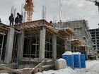 Ход строительства дома № 1 в ЖК Покровский - фото 45, Февраль 2021