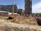Ход строительства дома № 1 в ЖК Подкова на Ванеева - фото 2, Сентябрь 2021