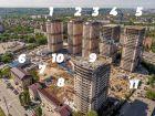 Ход строительства дома Литер 1 в ЖК Звезда Столицы - фото 14, Июнь 2020