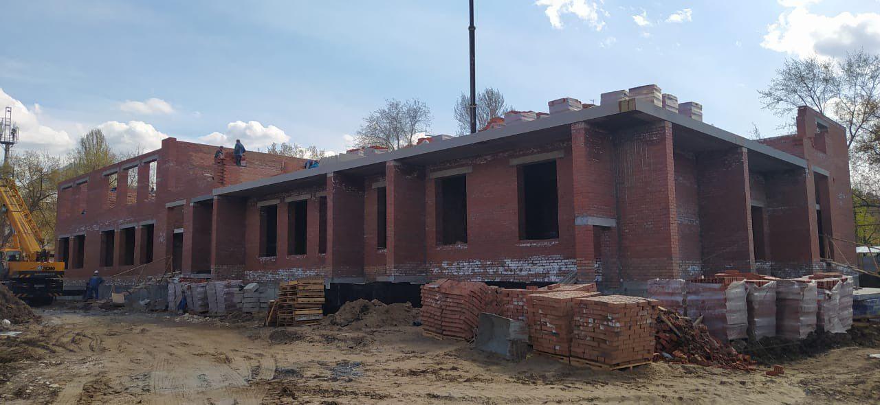 В Самаре на улице Подшипниковой продолжается строительство детского сада