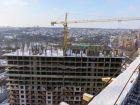 Ход строительства дома Литер 1 в ЖК Первый - фото 139, Январь 2018