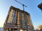 Ход строительства дома Литер 1 в ЖК Династия - фото 26, Ноябрь 2019