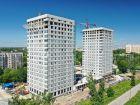 Ход строительства дома № 1 второй пусковой комплекс в ЖК Маяковский Парк - фото 24, Июнь 2021