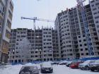 Ход строительства дома № 3 (по генплану) в ЖК На Вятской - фото 28, Январь 2017