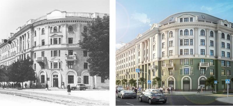 Жилой дом на пл. Ленина, 6 - фото 1