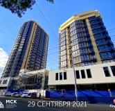 Ход строительства дома Литер 2 в ЖК Сердце Ростова 2 -