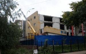ФОК для школы № 186 по ул. Генкиной в Советском районе (2-ая очередь строительства)