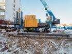 ЖК Каскад на Сусловой - ход строительства, фото 110, Ноябрь 2018