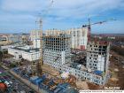 Ход строительства дома № 7 в ЖК Планетарий - фото 26, Апрель 2018