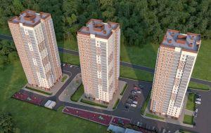 Квартиры от 44 000 руб./м². <br> в самом экологически чистом<br> районе города.