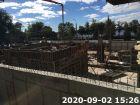 ЖК Волна - ход строительства, фото 34, Сентябрь 2020