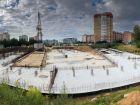 ЖК Университетский - ход строительства, фото 100, Август 2020